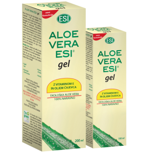 ALOE VERA GEL S ČAJEVCEM IN VITAMINOM E